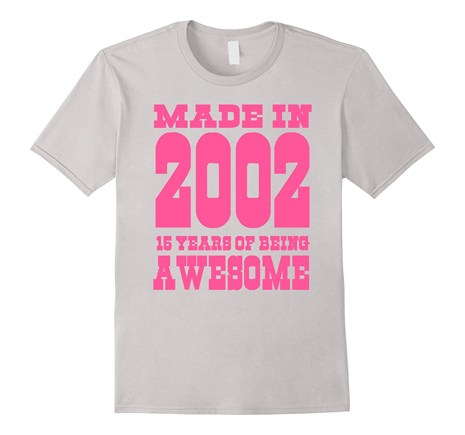 15th Birthday Gift Idea 15 Year Old Boy Girl Shirt 2002 PL
