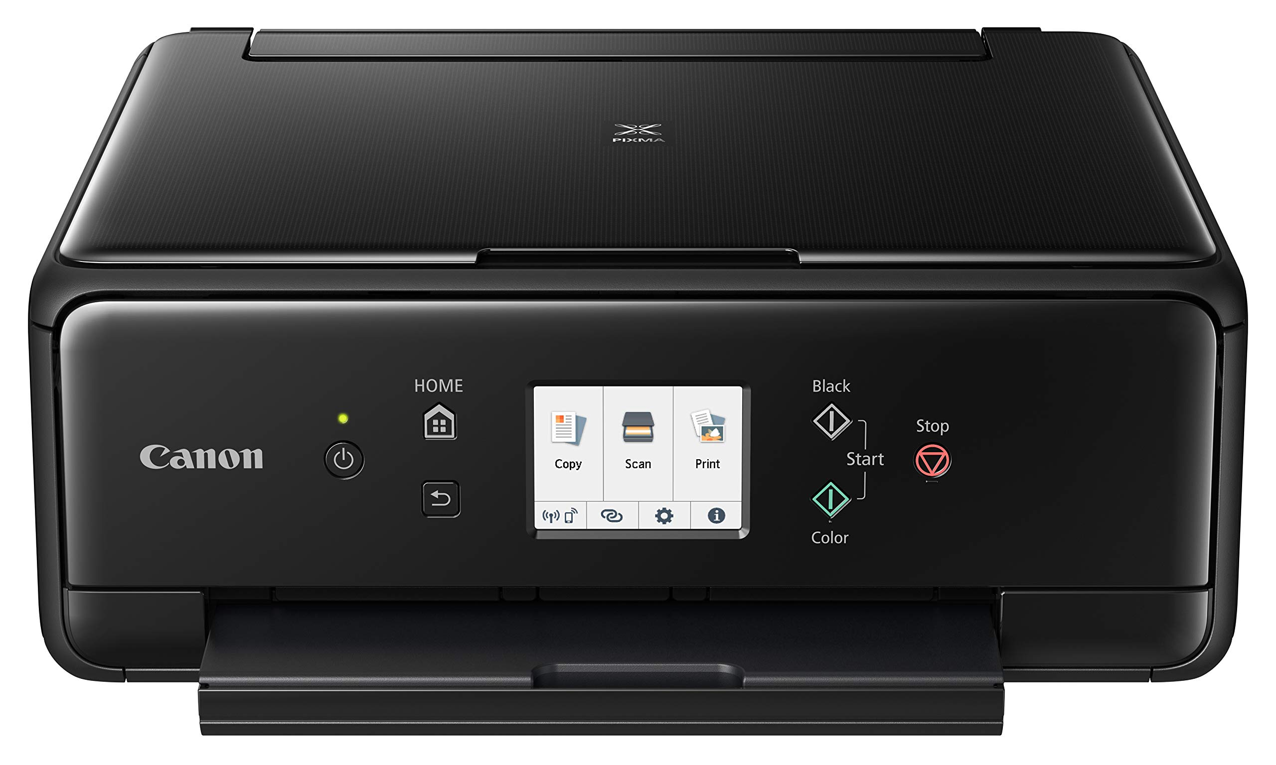 Canon 2986C002 PIXMA TS6220 Wireless All in One Photo Printer with Copier, Scanner and Mobile Printing, Black by Canon (Image #2)