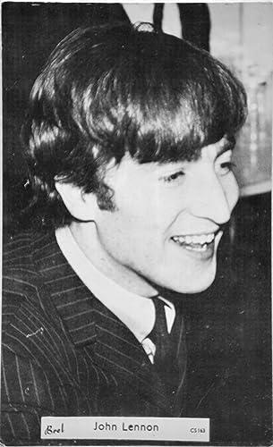 1963 - Brel - #CS163 - Original John Lennon Vintage Postcard
