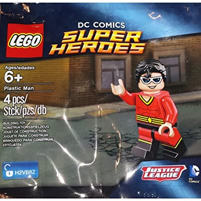LEGO Super Heroes: Plastic Man Set 5004081 (Bagged): Toys & Games
