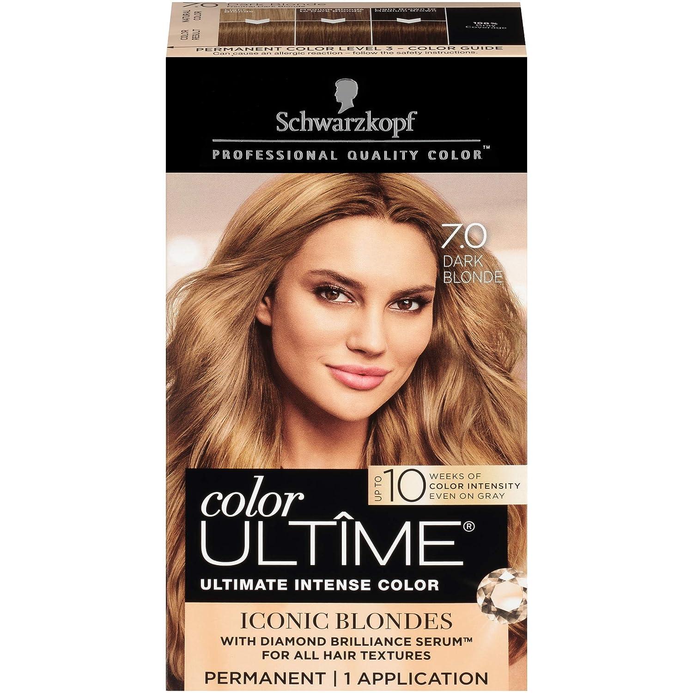 Schwarzkopf Ultime Hair Color Cream, Light Natural Blonde, 9.5, 2.03 Ounces : Beauty