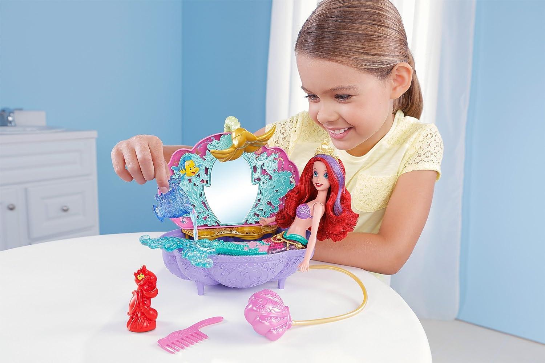 Amazon.com: Disney Princess Ariel\'s Flower Shower Bathtub Accessory ...