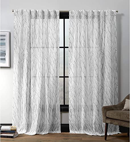 Exclusive Home Curtains Oakdale Hidden Tab Top Curtain Panel