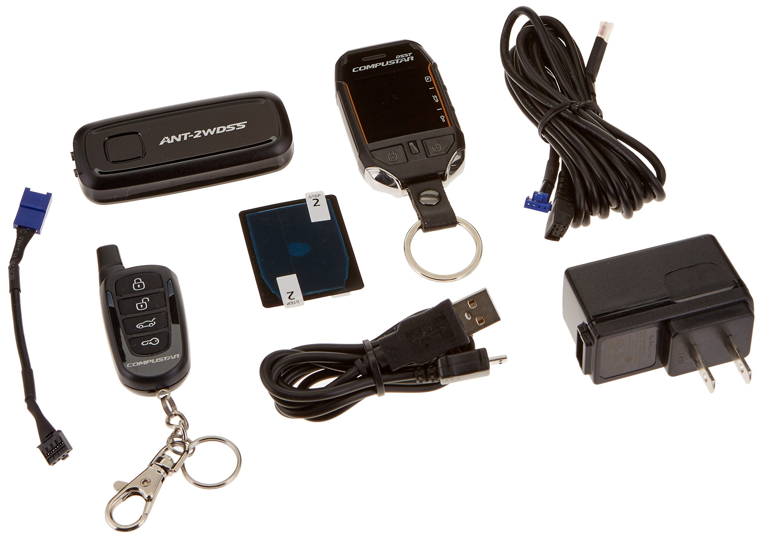 Compustar Pro T11 3-Mile Range Pager Kit RF-P2WT11-SS from 1800 Wholesale Direct