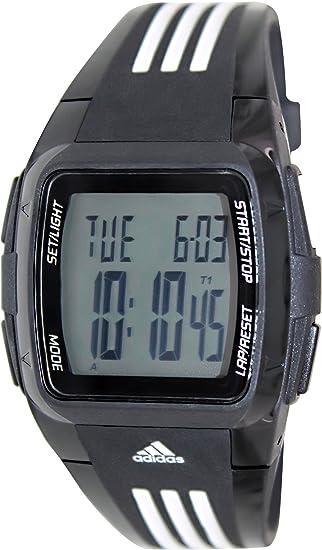 adidas ADP6000 - Reloj digital de cuarzo para hombre con correa de plástico, color negro: Adidas: Amazon.es: Relojes