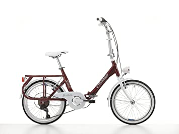 "Bicicleta plegable Cicli Cinzia Sixties, cuadro de aluminio, rueda 20"", tamaño 40"