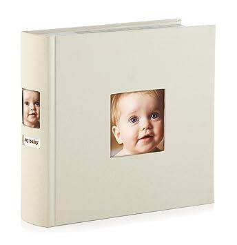 amazon com pearhead side photo album holds 200 4 x 6 photos