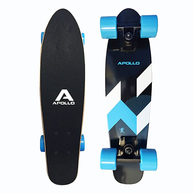 128 opinioni per Apollo Fancy Board Matei Mini- Tavola cruiser completa vintage | Dimensioni: