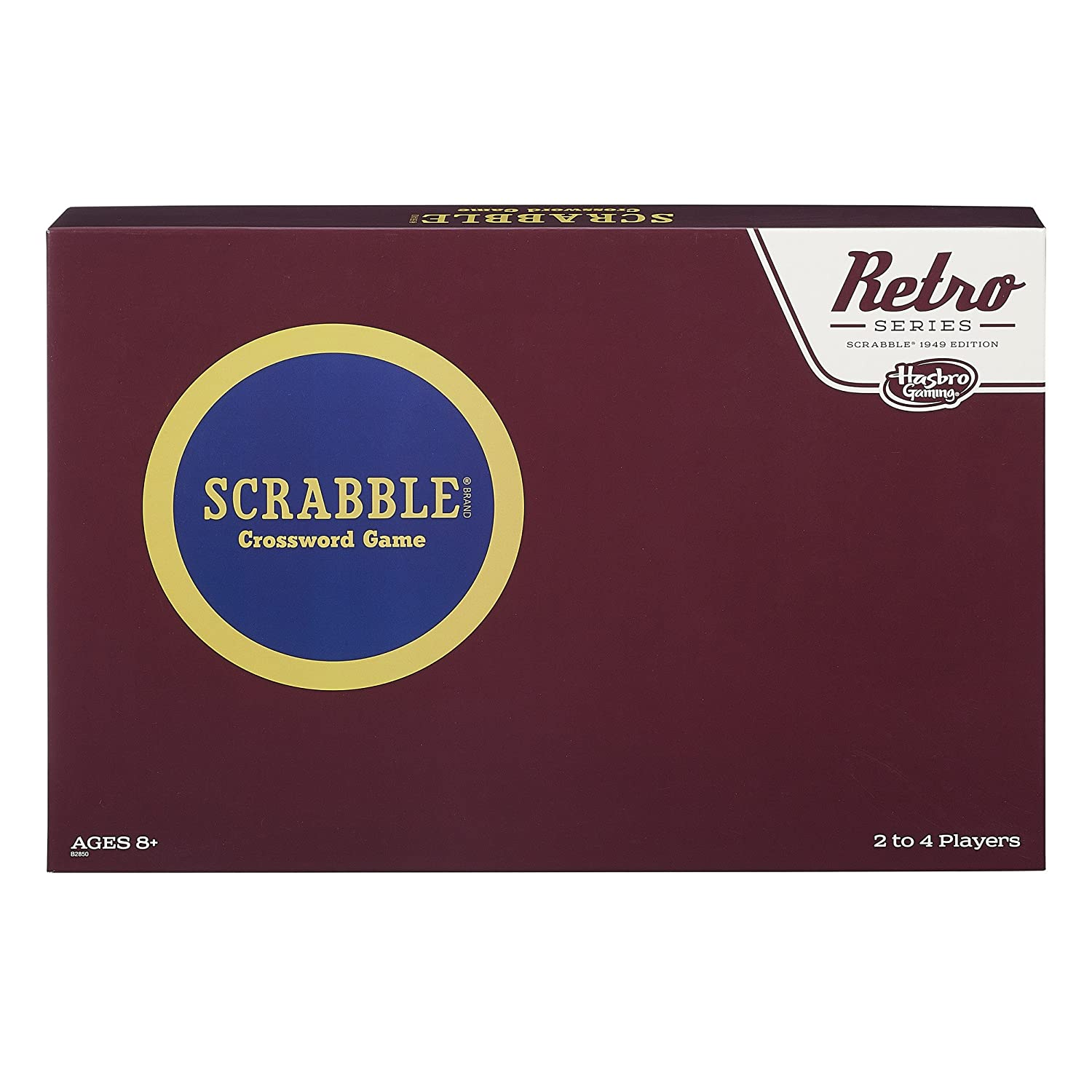 Retro Series Scrabble 1949 Edition Game Hasbro B2850