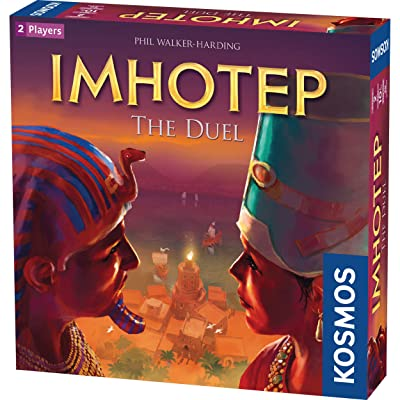Imhotep: The Duel - A Kosmos Game from Thames & Kosmos | 2-Player Version of Spiel Des Jahres-Nominated Imhotep, Builder of Egypt Board Game: Toys & Games