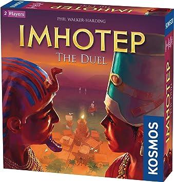 Thames & Kosmos 694272 Imhotep: The Duel | La Competencia de los constructores continúa. | Juego de Estrategia, 2 Jugadores | Edades 10+ |: Amazon.es: Juguetes y juegos