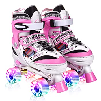 Kuxuan Saya Roller Skates Adjustable For Kids