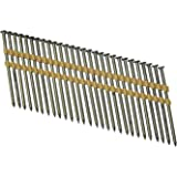 "Grip Rite Prime Guard GR034HG1M 21 Degree Plastic Strip Round Head Exterior Galvanized Collated Framing Nails, 3-1/4"" x 0.131"