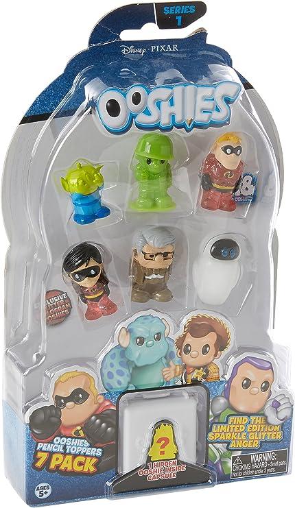 Ooshies Pixar 7 Pack Asst – Wave 1: Amazon.es: Juguetes y juegos