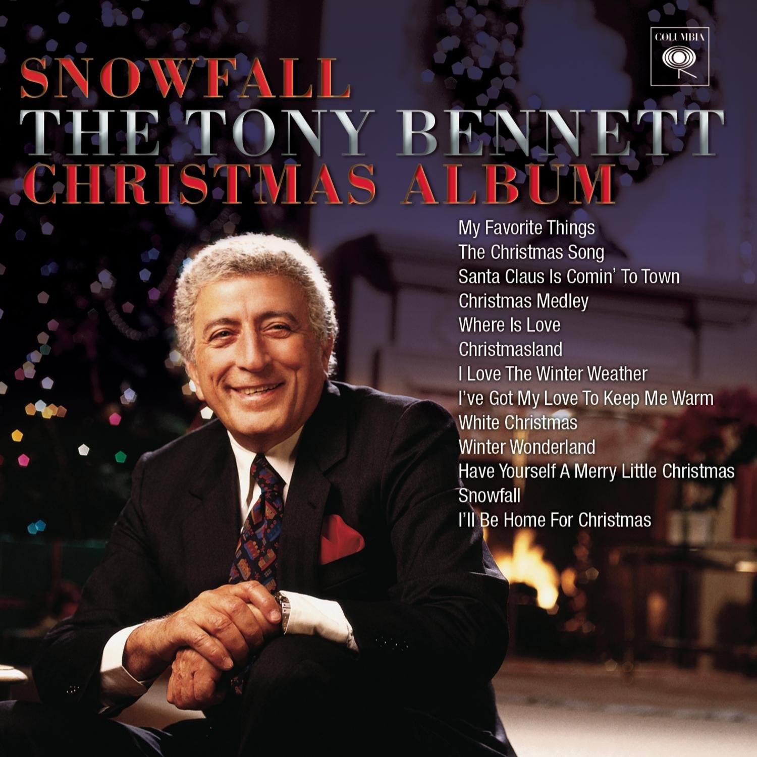Image result for tony bennett snowfall christmas album