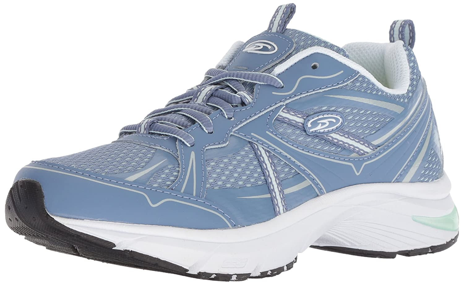 Dr. Scholl's Shoes Women's Persue Sneaker B07BJLMJ7Y 7 M US|Blue/Mint