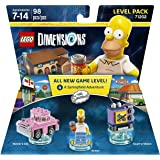 Warner Bros Lego Dimensions Simpsons Level Pack - Simpsons Level Pack Edition