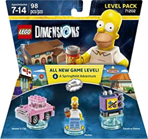 Simpsons Level Pack - LEGO Dimensions by Warner Home Video - Games ...