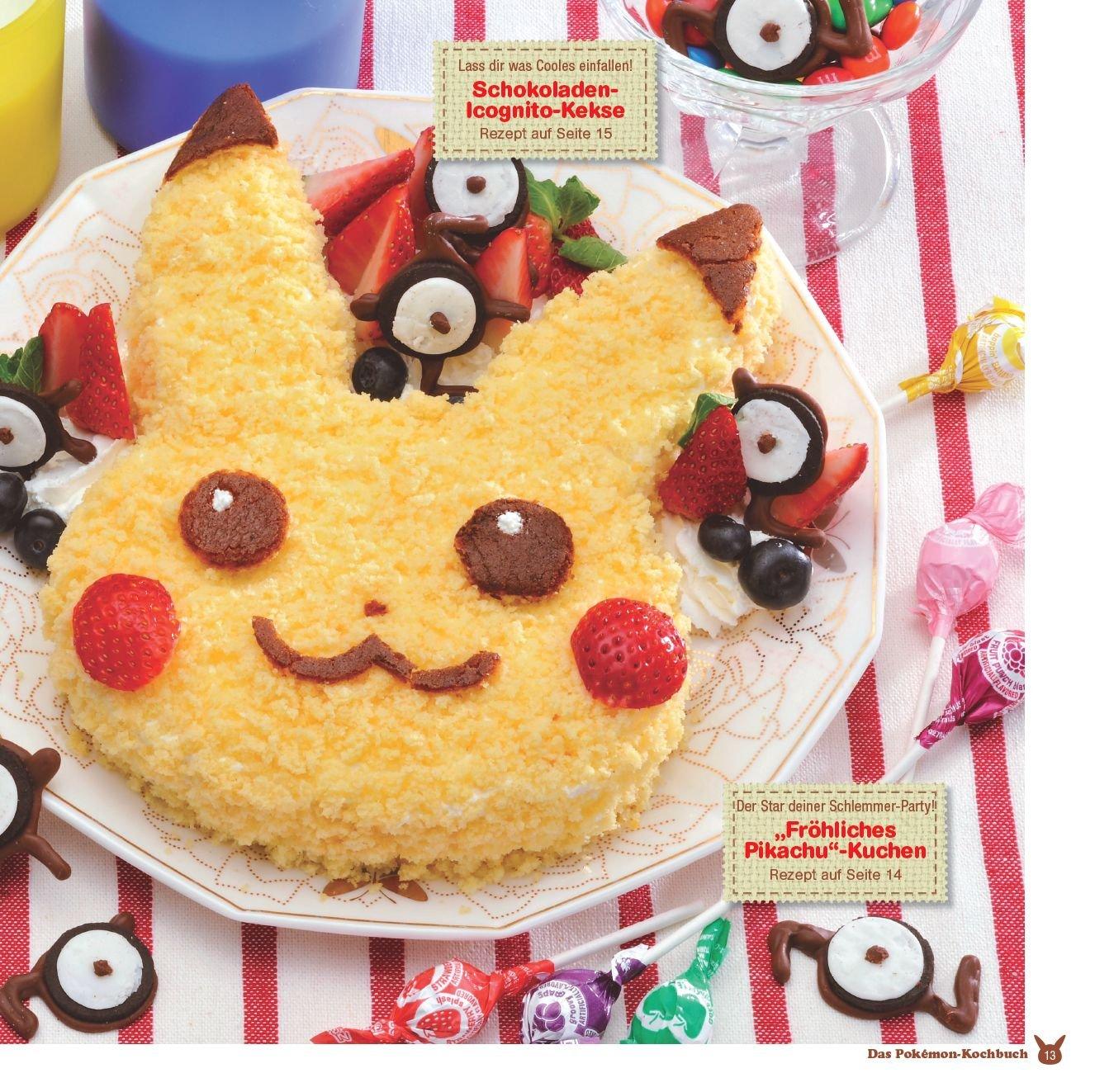 Das Pokemon Kochbuch Einfache Rezepte Die Spass Machen Amazon De