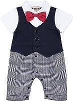 ZOEREA 1 pezzo pagliaccetti bambino vestiti battesimo bimbo estate short sleeve cotton pagliaccetto