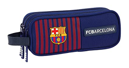 Amazon.com: FC Barcelona Triple pencil case 2019 Home ...