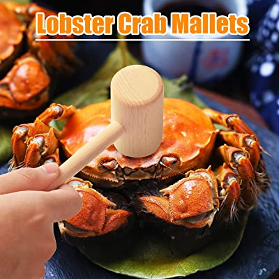 New Crab Seafood Set of 2 Mallets Lobster