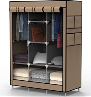 Amazon.com: WOLTU Portable Clothes Closet Storage Organizer ...