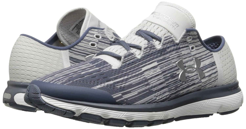 Under Armour Women's Speedform Velociti Graphic Running Shoe B01N2T8R5E 6 M US|Apollo Gray (962)/Glacier Gray