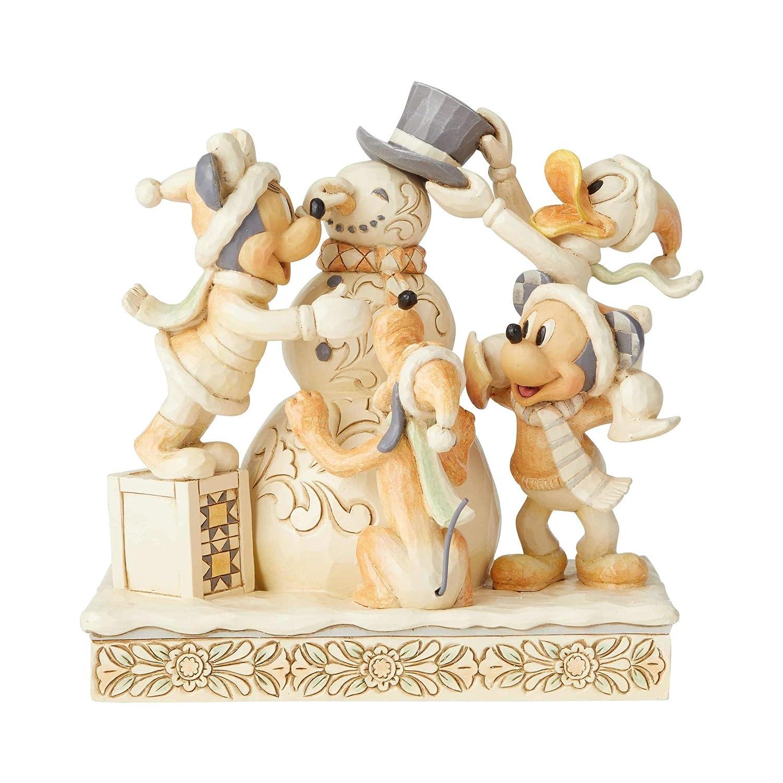 Enesco Disney Traditions Fab Four White Woodland Figurine