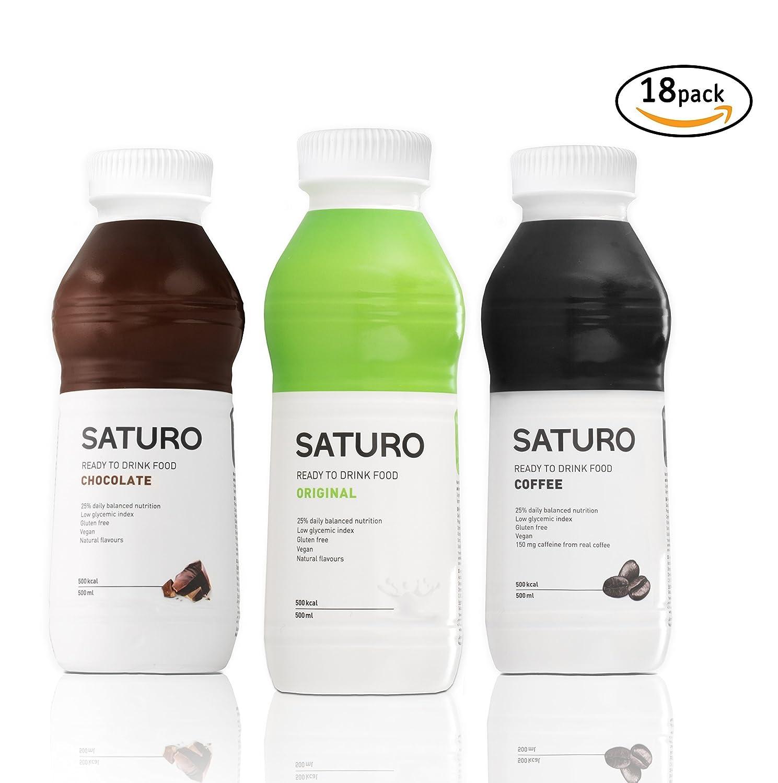 Astronautennahrung Saturo, Trinknahrung mit Hochwertigem Protein ...