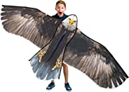 JEKOSEN Bald Eagle Huge Kite 70'' for Kids and Adults Single Line String Easy to Fly for Beach Trip Park Family Outdoor Game