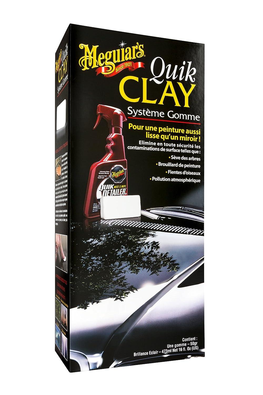 Meguiar's G1116F Kit Quik Clay Systè me Gomme - production interrompue MEGUIARS