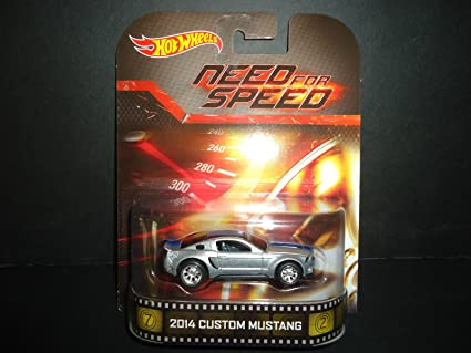 Amazon Com 2014 Custom Mustang Need For Speed Hot Wheels 2014