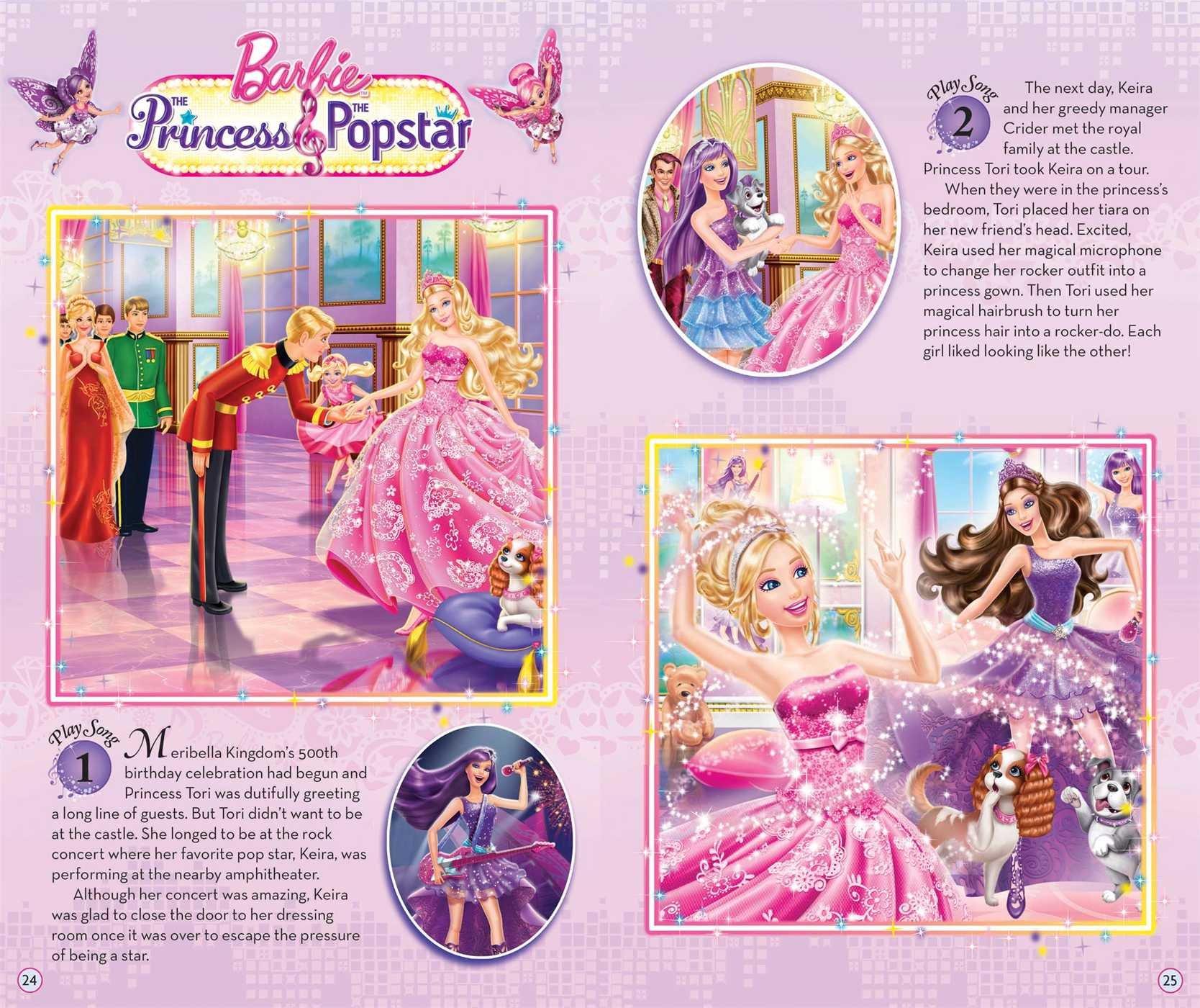 barbie music player storybook barbie 9780794430757 amazon com books