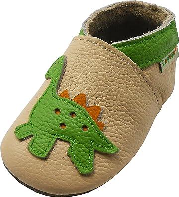 SAYOYO Baby Dinosaurs Soft Sole Leather