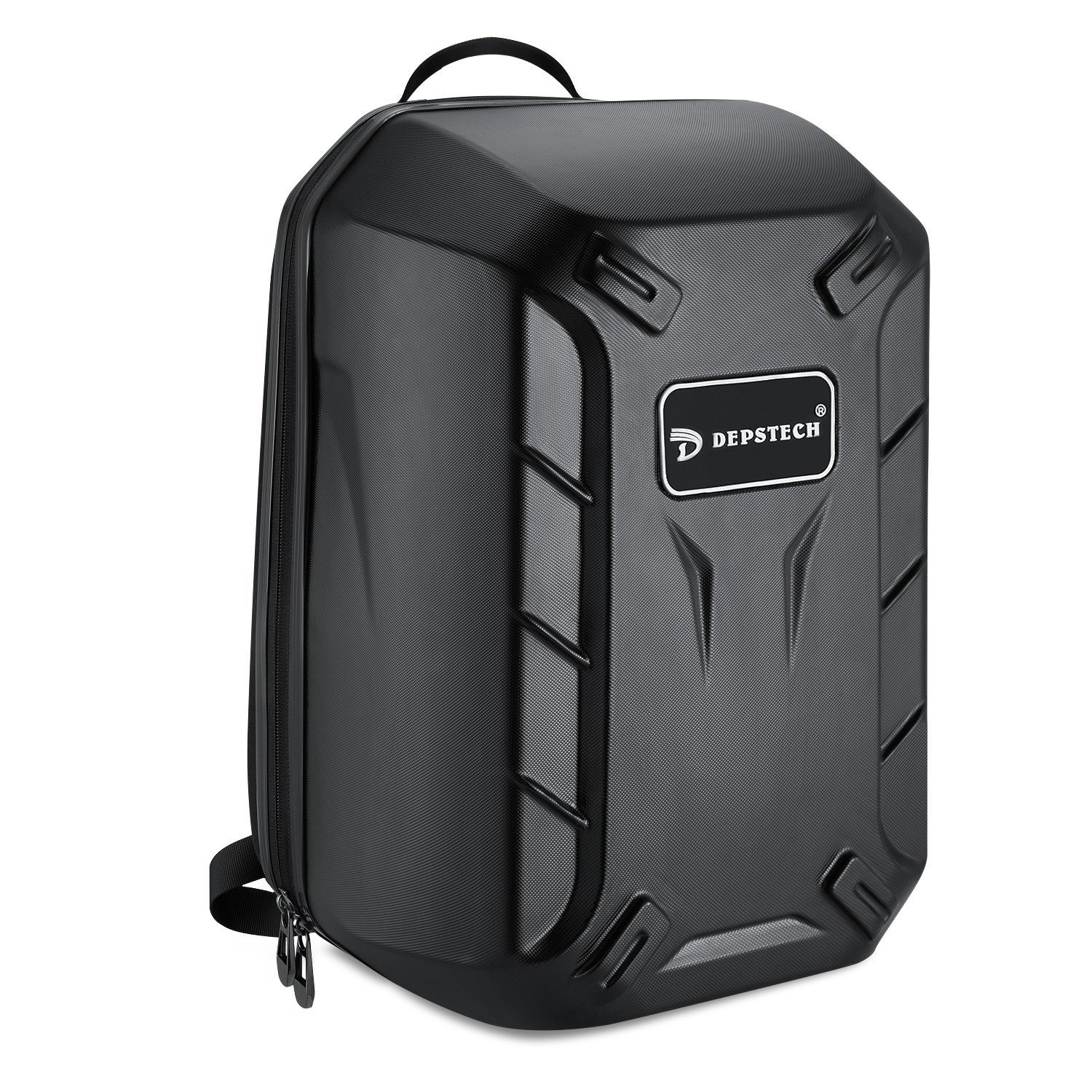 Depstech Protective Travel Hardshell Backpack Case for DJI Phantom 3, Professional, Advanced, 4K and Standard Quadcopter, Sturdy High-Grade PC Outer Shell, Comfortable and Portable - Black DJI-04