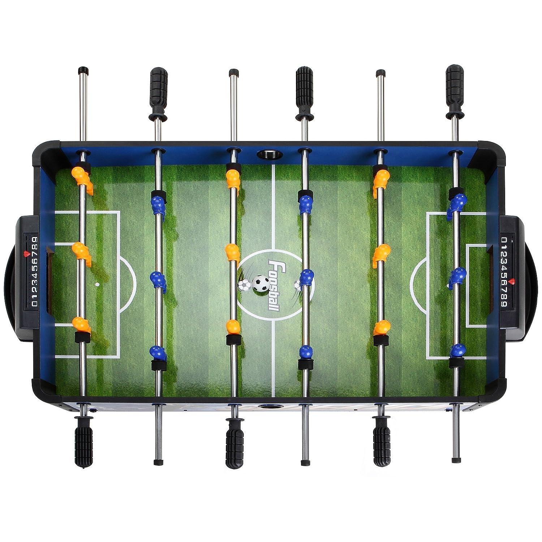 Amazon.com : Hathaway Sidekick Foosball Soccer Table, Blue/Green, 38 Inch :  Foosball Tabletop : Sports U0026 Outdoors
