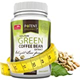 Potent Organics 100% Pure Green Coffee Bean Extract - Standardised to 50% Chlorogenic Acid - High GCA (patented extract). 60 Veg Caps
