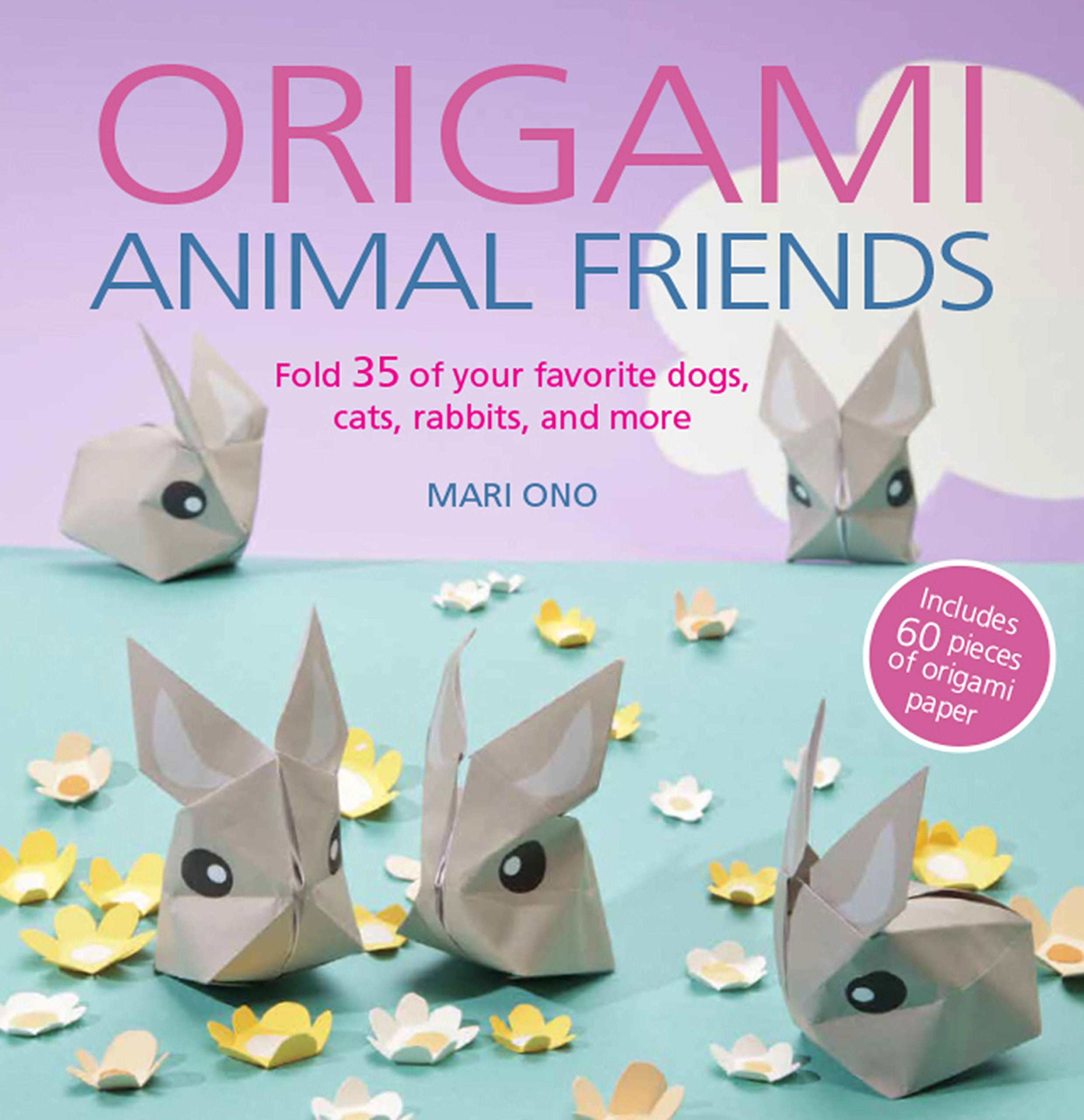Childrens Origami Pet Book Including Instruction /& Sticker Sheets Craft Paper