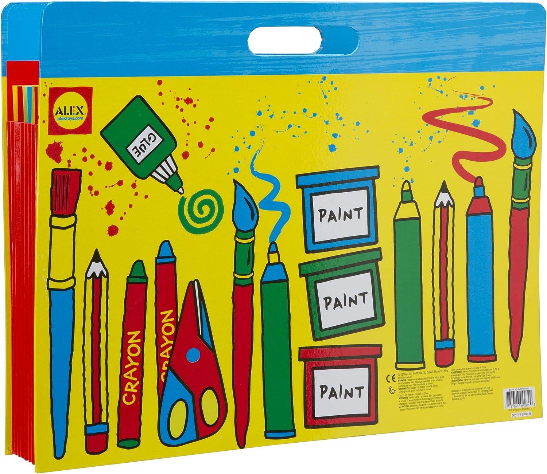 Alex Kids My Art Little Hands Portfolio Photo Front Expandable Pocket Carry Case