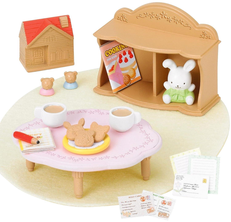 Sylvanian Families furniture child table set over -313 (japan import) Amazon.co.uk Toys u0026 Games  sc 1 st  Amazon UK & Sylvanian Families furniture child table set over -313 (japan import ...