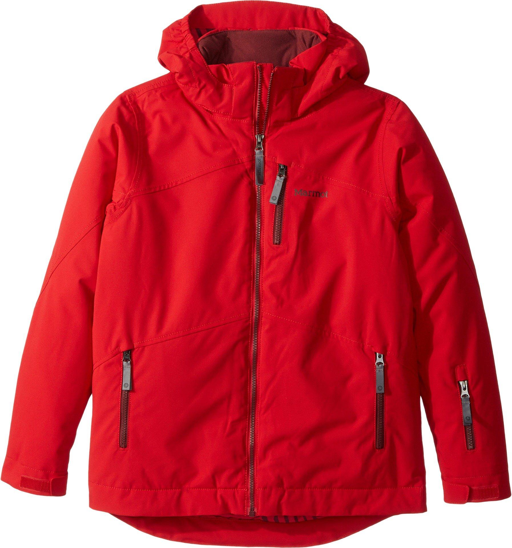 Marmot Kids Boy's Ripsaw Jacket (Little Kids/Big Kids) Team Red Large by Marmot