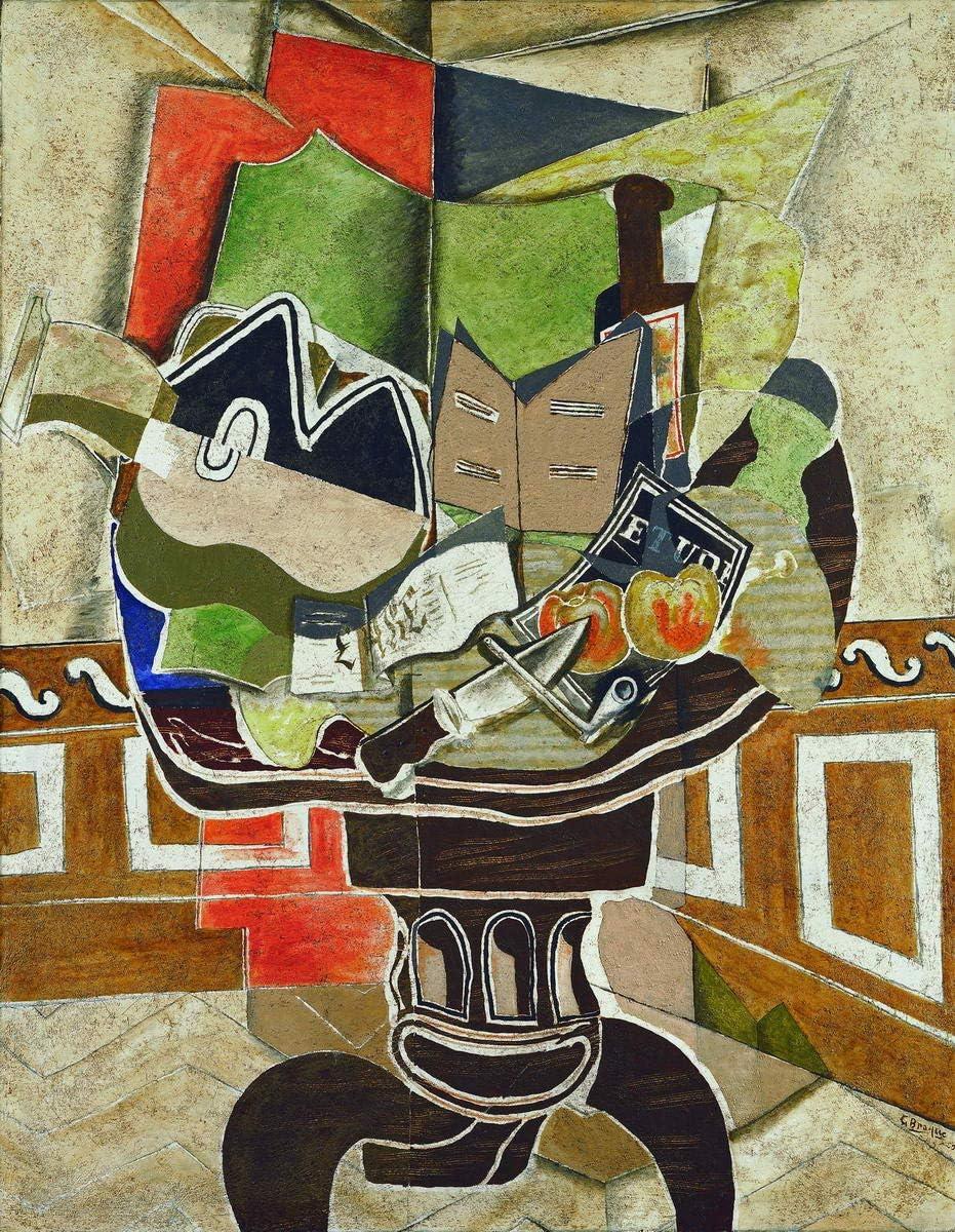 Berkin Arts Georges Braque Giclee Imprimir en Lienzo-Pinturas ...