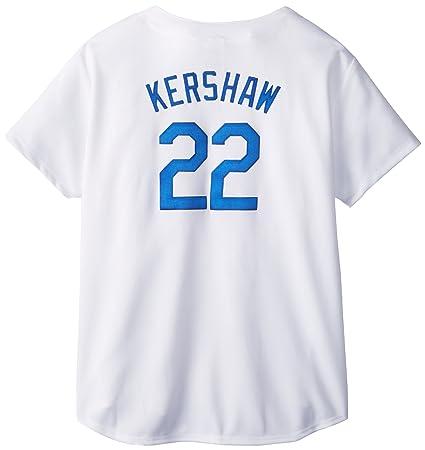 3f6681a2e Amazon.com   MLB Los Angeles Dodgers Women s Clayton Kershaw 22 ...