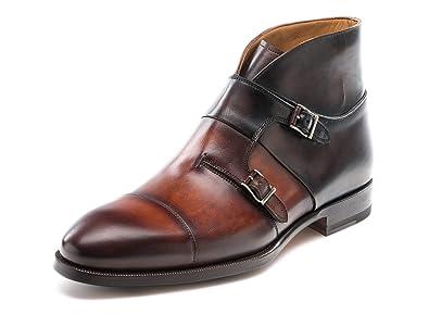 c6e355dc9ce Magnanni Dionicio Cognac and Brown Men's Boots