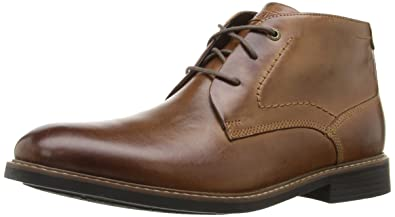 Discount Sale Rockport Charson Chukka Boots Mens Chocolate Online Store