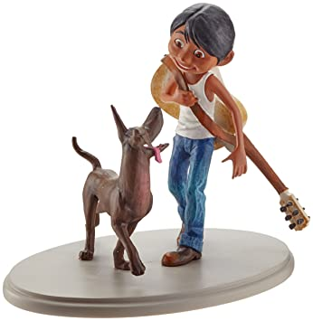 Amazon.de: Disney 4060074 Showcase Coco - Miguel and Dante Figur ...