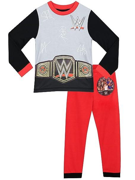 WWE - Pijama para Niños - World Wrestling Entertainment - 10 - 11 Años