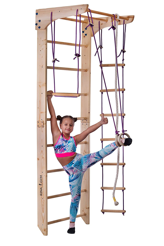 Indoor Fitness Sprossenwand kinderzimmer Kinder-2-220 ...