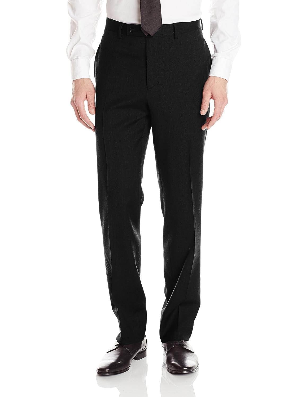 Calvin Klein Mens X Fit Stretch Slim Suit, Black, 38 Long